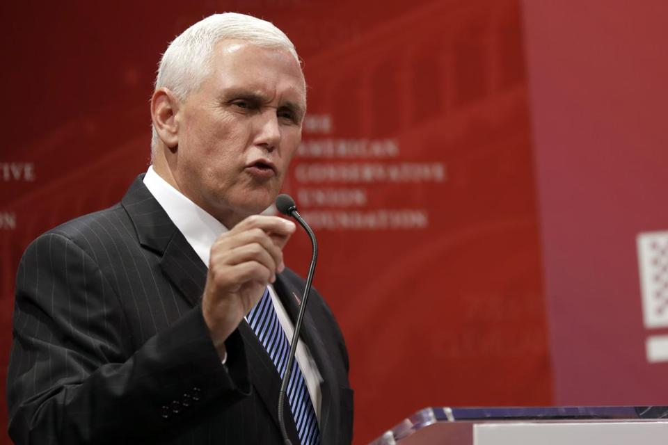 Image result for mike pence talk show