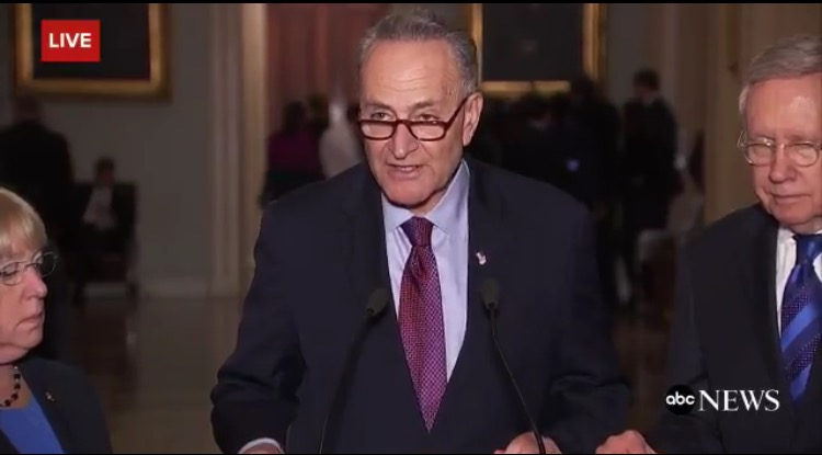 story latest trump schumer joust over cabinet picks