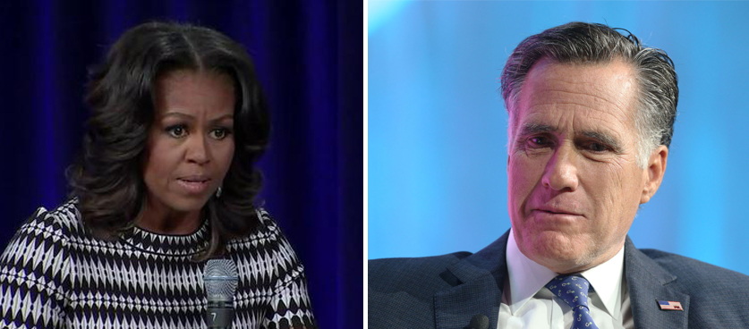 Michelle Obama Just Went There And Mitt Romney Sided With Her!!