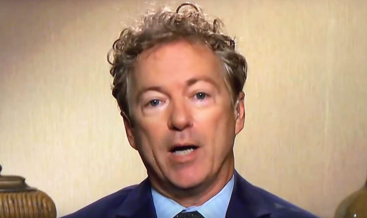 YouTube removes video of Rand Paul reading alleged whistleblower's name on Senate floor